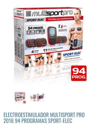 Electro estimulador muscular Nuevo