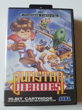 GUNSTAR HEROES MEGADRIVE MEGA DRIVE SEGA SNES NES