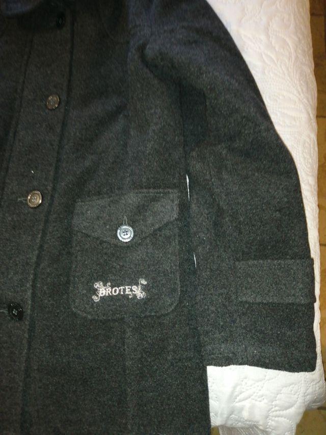 Abrigo lana Brotes niño talla 14