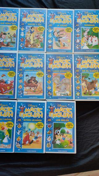 Colección completa Magic English
