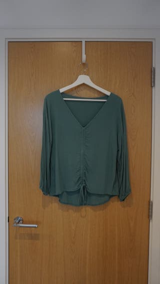 Womens Aqua Green Top