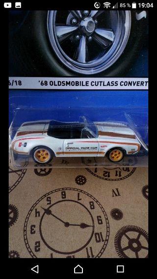 '68 Olds Cutlass convertible Pace Car