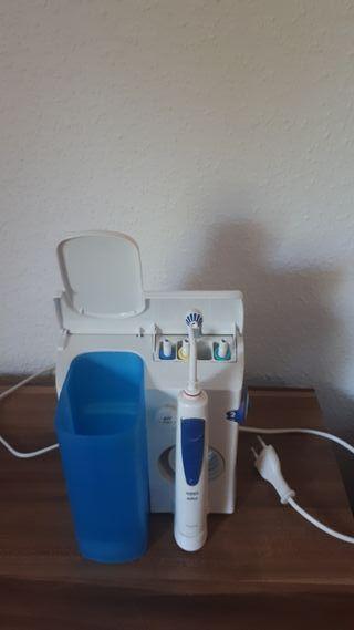 irrigador bucal y dental oral b / braun oxyjet