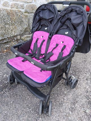 Carrito gemelar AIRE-TWIN - Joie