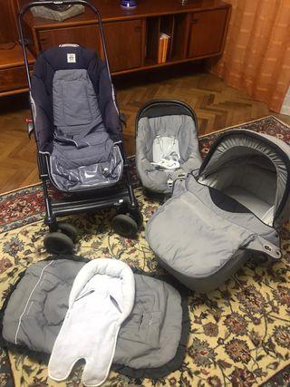 Carro de bebe trio