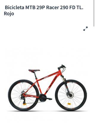 Bicicleta con freno hidráulico