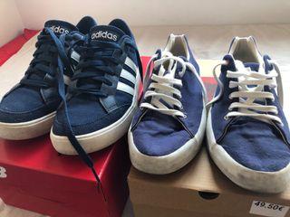 Pack zapatillas Adidas y El Ganso