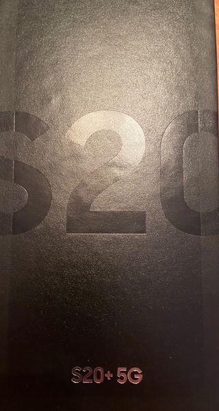 Samsung Galaxy S20+ negro 128Gb 5G