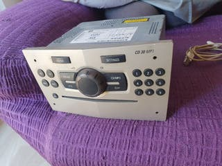 La radio Opel corsa D