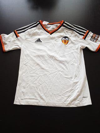 Camiseta blanca Futbol Club Valencia