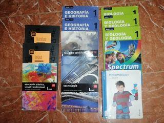 Libros 1ºESO Santa Mª de Alarcos
