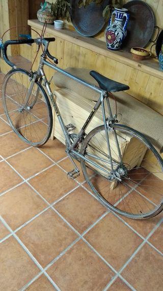Bicicleta antigua (años 70) para restaurar