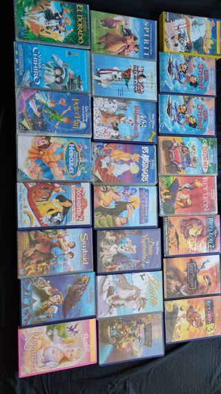 Colección VHS Disney