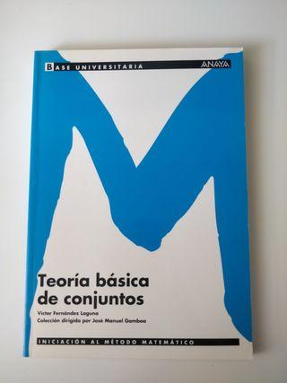"""Libro """"Teoría básica de conjuntos"""""""