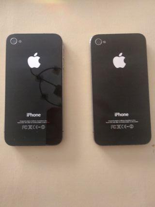 Bq Aquaris E6, diferentes iPhones