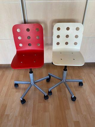 Sillas escritorio infantiles
