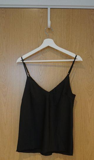 Womens Black Lingerie Shirt