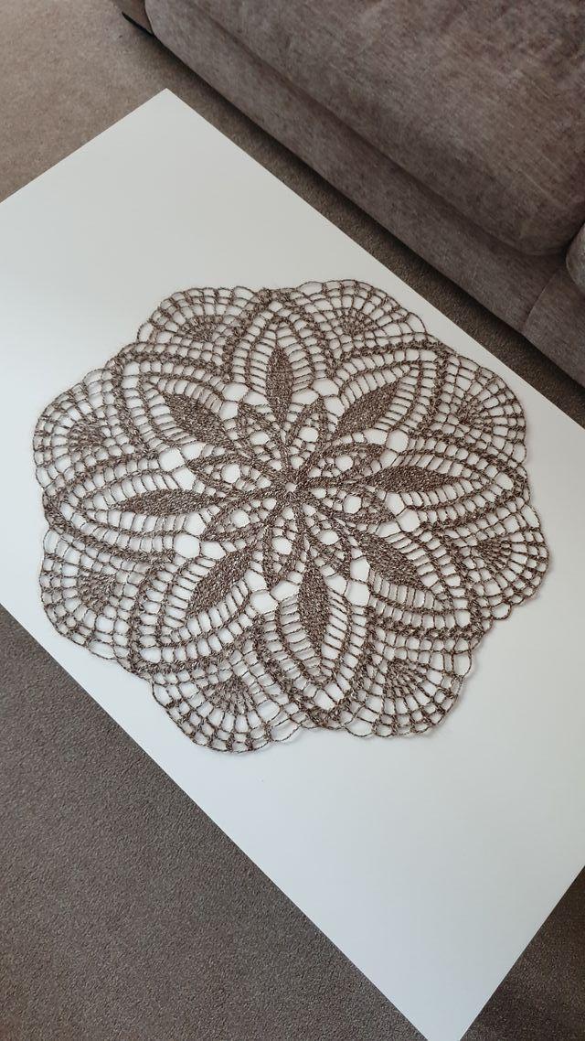 handmade doily