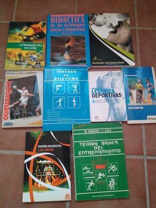 Lote de libros de deporte