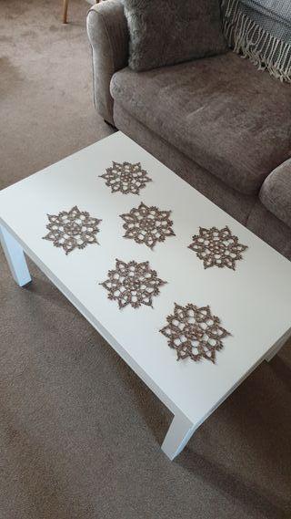 handmade doily (6 units)