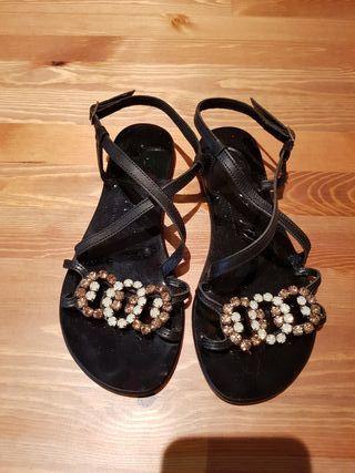 Sandalias de mujer.Made italy.