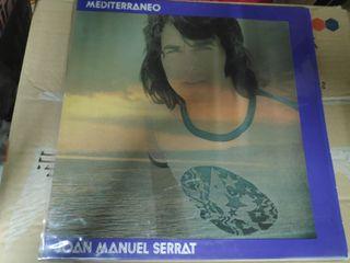 disco vinilo Joan Manuel Serrat Mediterráneo