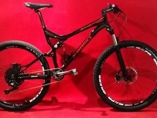 bicicleta mtb doble 27'5 stumpjumper fsr S-WORKS