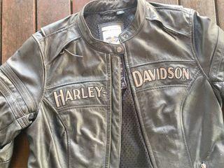 Chaqueta Original piel Harley D mujer Talla M