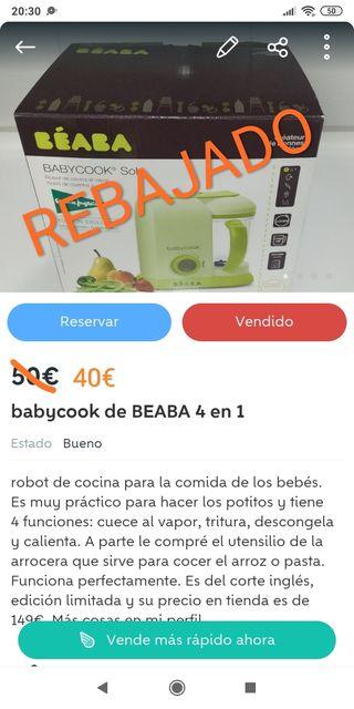 babycook de BEABA 4 en 1