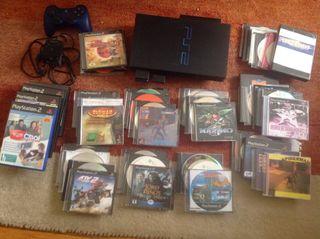 Ps2 , eye toy y muchos juegos