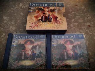 shenmue II (2) para dreamcast