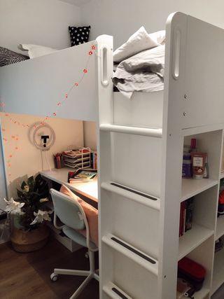 Cama alta (IKEA -> STUVA)