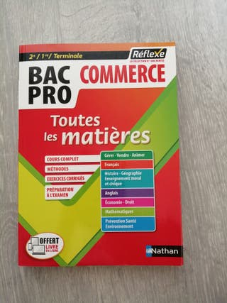 Livre bac pro commerce