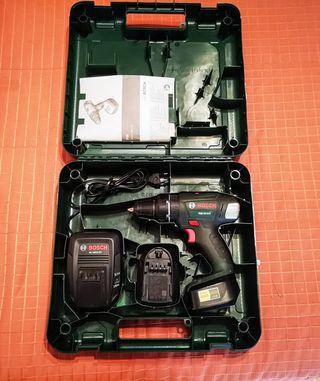 Taladro Inalámbrico Bosch PSB 18 LI2 +Caja+Batería