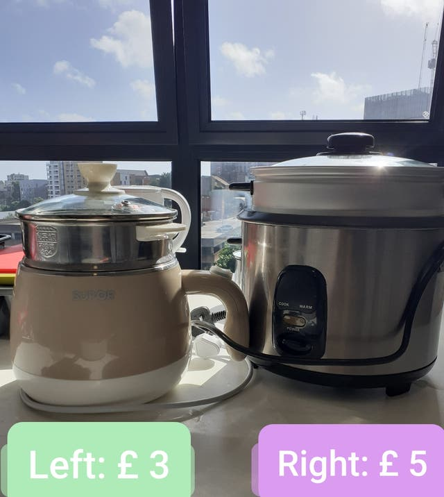 Rice Cooking Pots