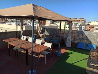 Conjunto de terraza/jardín.