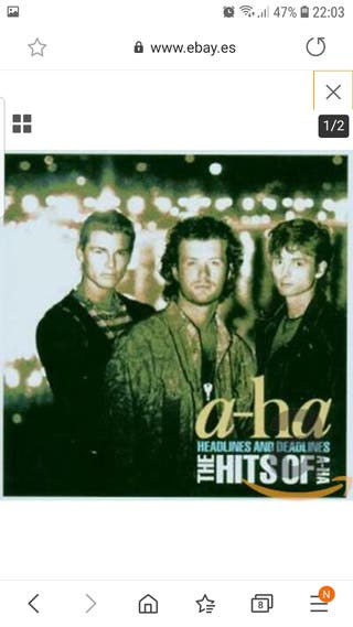 CD A-HA - Greatest Hits