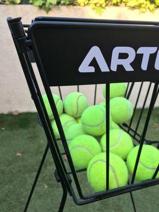 Cesta para pelotas de tenis