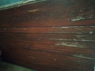 puerta garaje madera rústica