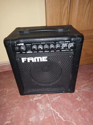 amplificador fame G20D2