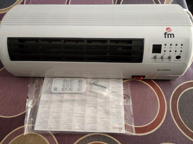 Calefactor cerámico de pared + modo ventilador