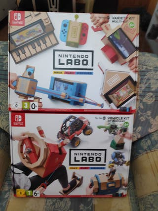 pack juegos nintendo labo switch nuevos