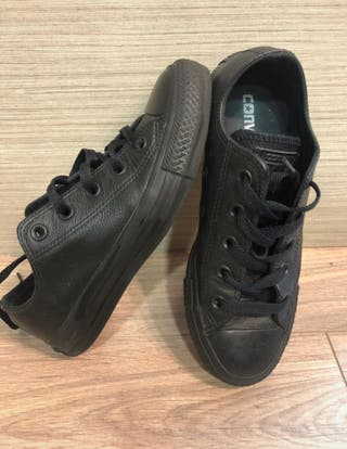 Converse Chuck Taylor all star ox negras