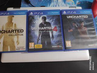 coleccion juegos uncharted ps4