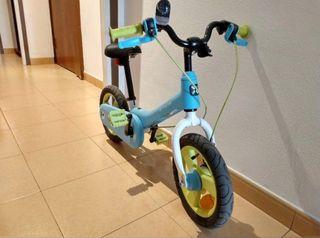 Bicicleta evolutiva decathlon woony