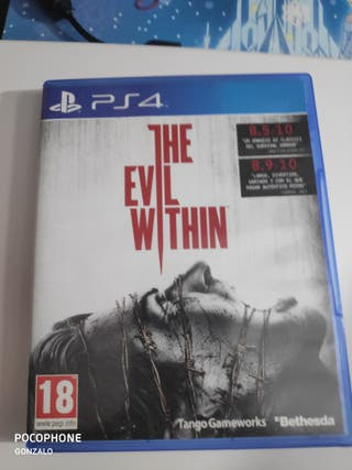 the evil withing ps4