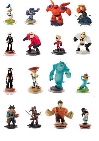 Figuras Disney Infinity Disney/Pixar