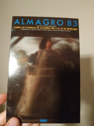 Postal Almagro 83 Jornadas Teatro Clásico Español