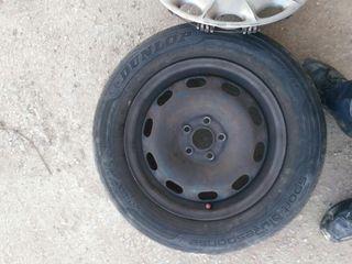 Neumáticos Dunlop con llanta Seat Leon