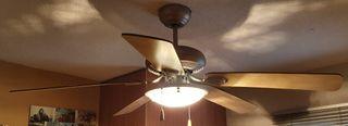 Ventilador techo Orbegozo 132cm, 3 vel, LED